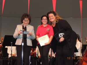 2013 Promising Young Musician Award