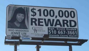 Jenny Lin Reward Billboard